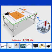 Mgj001 Многофункциональная портативная деревообрабатывающая пила, рабочий стол, Высококачественная Бытовая Складная деревообрабатывающая в