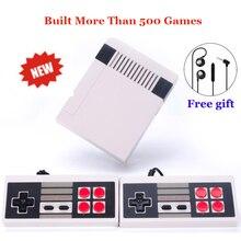 Ретро Мини ТВ Ручной игровой консоли для ne игры встроенный 600 различных игр PAL и NTSC двойной Геймпад игроков