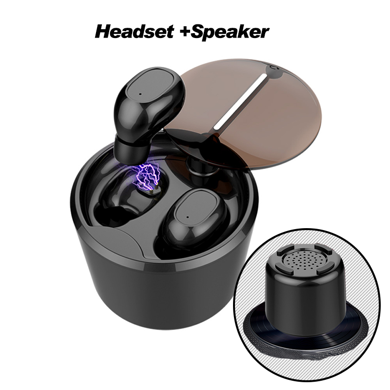 2018 Tws Bluetooth Earphone 4.1 Wireless Headphone Auriculares Earpiece Earbud Headset With 600mah Battery For Iphone Ximi Phone awei sport blutooth earbud earpiece wireless headphone headset auriculares bluetooth earphone for in ear phone iphone running