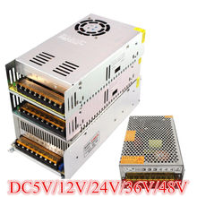 DC12V 13.8V 15V 18V 24V 27V 28V 30V 32V 36V 42V 48V 60V 300W 350W 360W 600W Switching Power Supply Source Transformer AC DC SMPS(China)