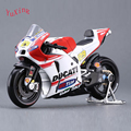 MAISTO 1/18 Diecast Motorcycle Model Toys GP Race Bikes #29 Andrea Iannone Motorbike Toys For   Children