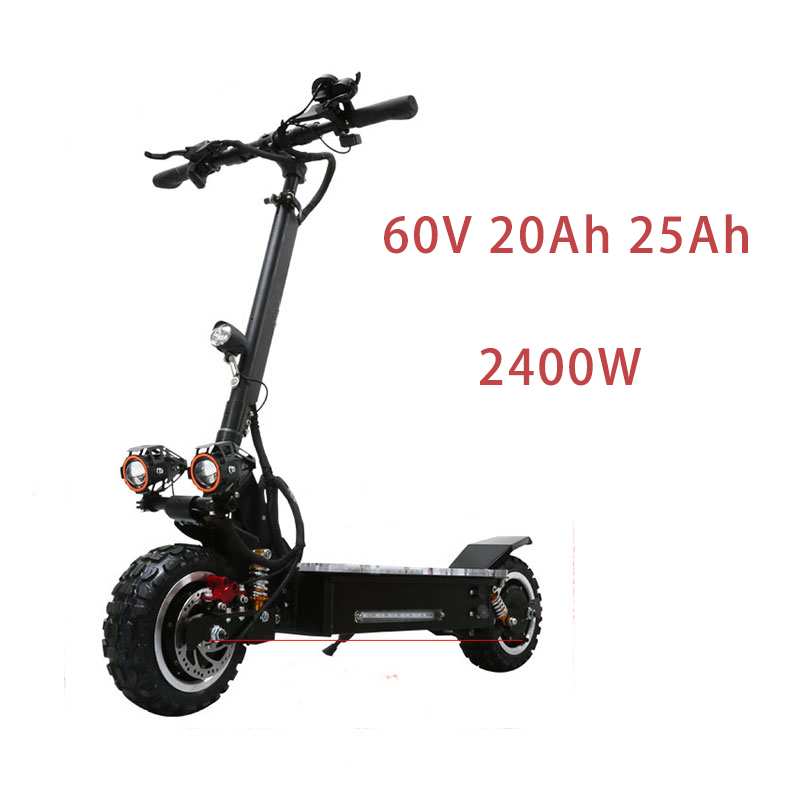 Audacious Js 60v2400w 10inch Powerful Electric Scooter Two Brushless Motor Foldable Hoverboard Lithium Batterry Unisex Koowheel Skateboar Perfect In Workmanship Scooters