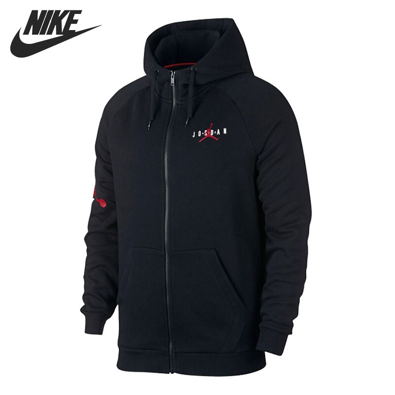 Оригинальный Новое поступление 2018 NIKE JUMPMAN AIR флис для мужчин куртка с капюшоном Спортивная
