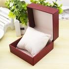 Wholesale Cardboard Watch Box Fashion Red/Black Watch Storage Watch Cases Watch Gift Box Jewellry Packing box For Women W044
