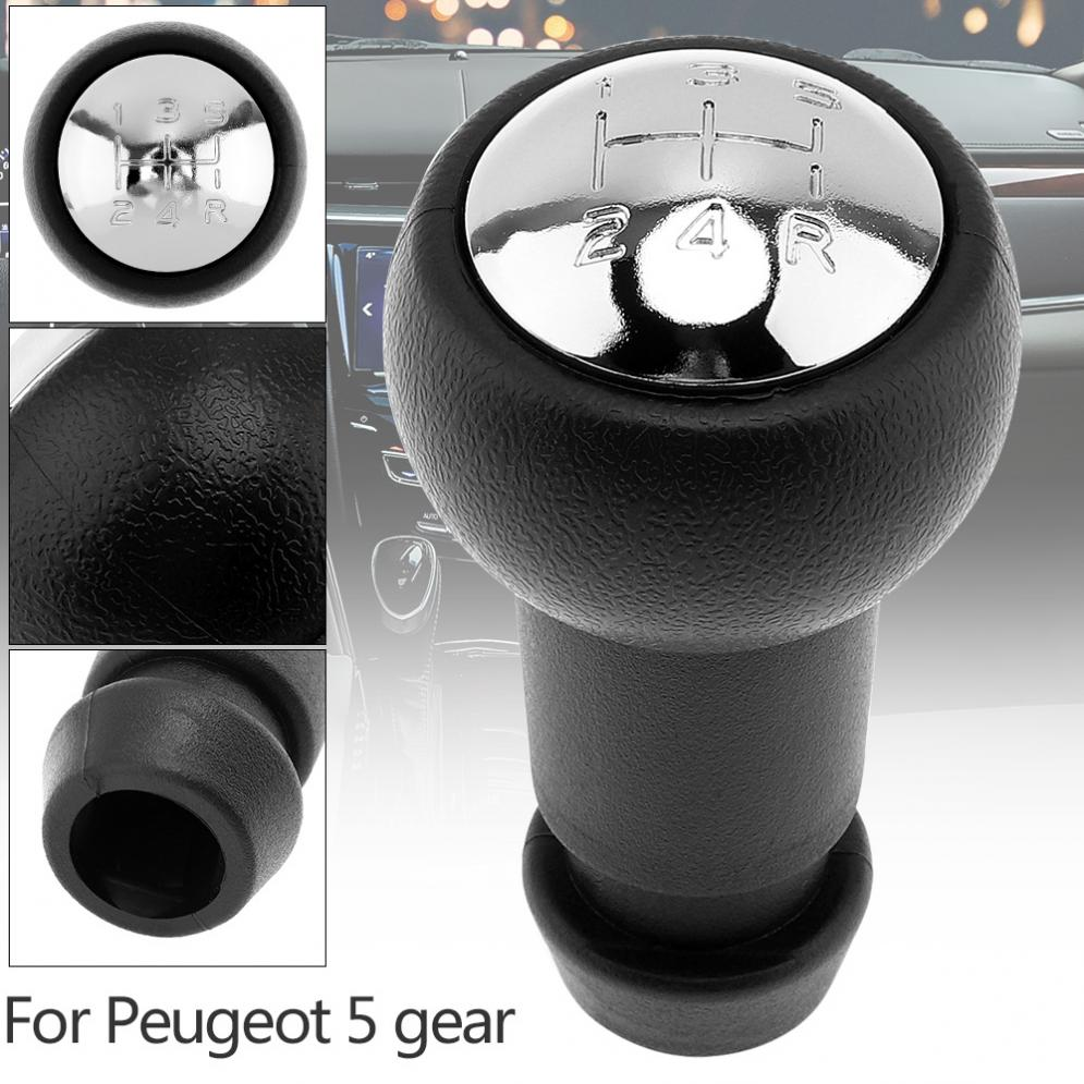 Durable 5 Speed Abs Car Manual Gear Shift Handball Knob For Citroen C2 Fuse Box C4 Saxo Xsara Picasso Berlingo Peugeot Models In From