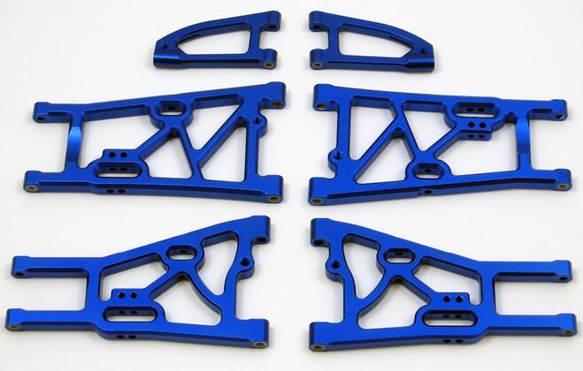 Complete Aluminum Arm set( include front upper arm, front lower arm and rear lower arm) fit for Kyosho MP7.5 Inferno GT2 VE модель шоссейного автомобиля kyosho inferno gt2 ve rs ceptor 4wd rtr масштаб 1 8 2 4g