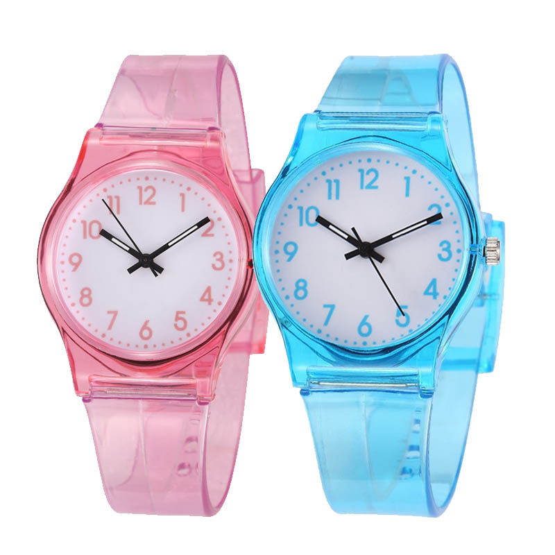 Cartoon Candy Children Watch Kids Watches Silicone Baby Boy Girls Watch Cute Dial Clock Relogio Infantil Relojes  Kids Toy Gift