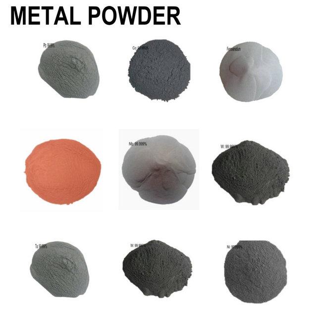 Metal Ultrafine Powder Iron Copper Nickel Tungsten Bi Cr 4N High Purity 99.99%MIN Fe Cu Ni Mo W for R&D Element Metal 100 Gram