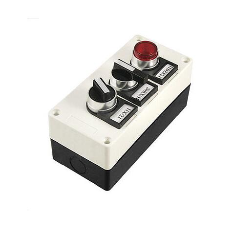 Ui 660V Ith 10A 2 3 Position Switch Push Button Station ui 660v ith 125a on off 2 position rotary cam changeover switch lw28 125 3
