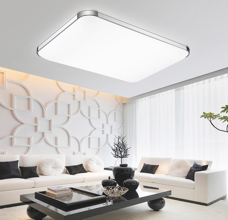Indoor Ceiling Lights #27: Aliexpress.com : Buy Dimmable Modern Led Ceiling Lights For Living Room Bedroom Kids Room Surface Mounted Led Home Indoor Ceiling Lamp Lighting Light From ...