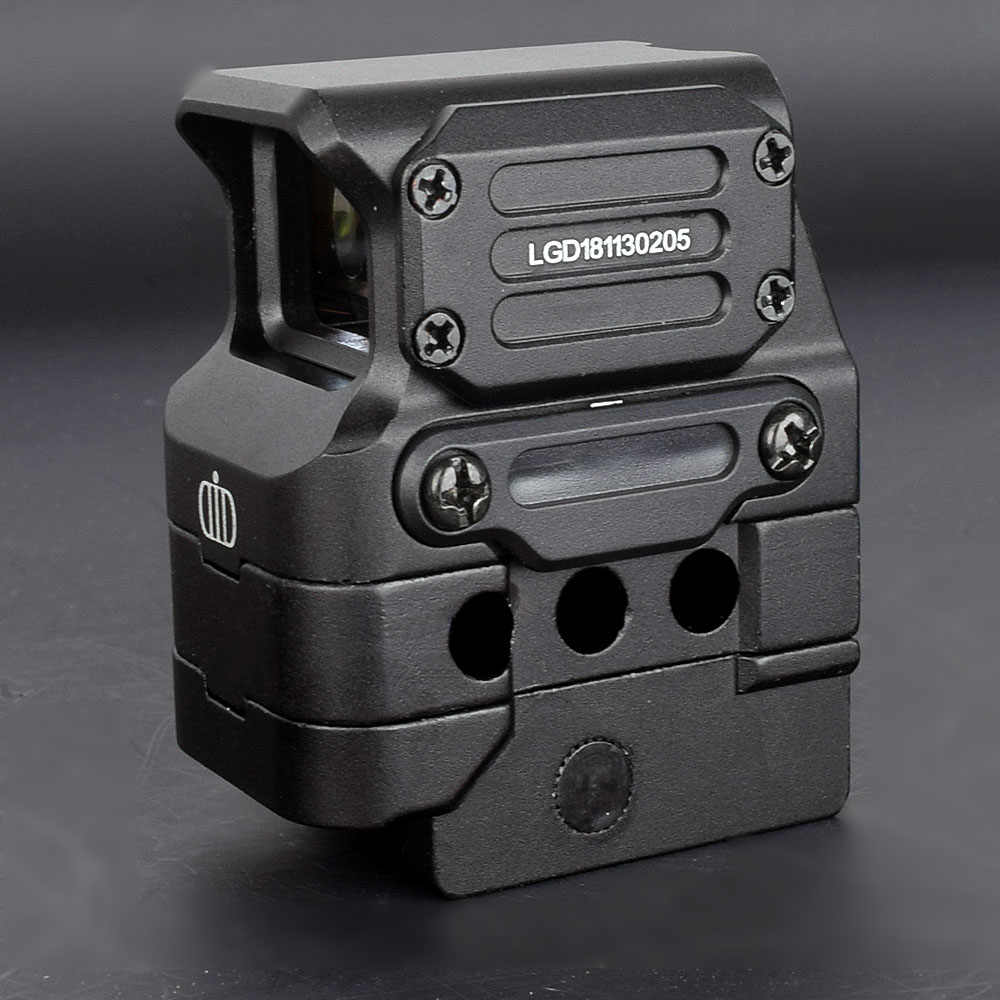 Di Optik FC1 Red Dot Sight Reflex Sight Holographic Sight untuk 20 Mm Rail (Hitam)