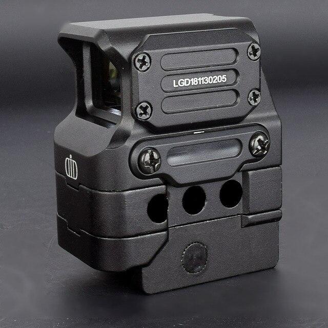 DI Optical FC1, réflexe à visée holographique avec point rouge, objectif de 20mm (noir)