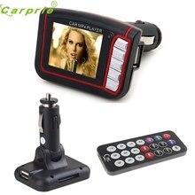 Moda 1.8 Pulgadas LCD Inalámbrico de Coche fiable Auto Transmisor de FM MP3 MP4 Reproductor de Música USB SD MMC Remoto Ap1 dropshipping