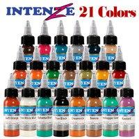 21 colors tattoo ink 30ml pigment body tattoo art beauty kit