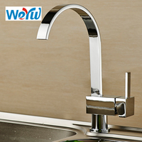 WEYUU New Arrival 360 Degree Rotation Kitchen Faucet Waterfall Kitchen Sink Faucet Wholesale And Retail Deck