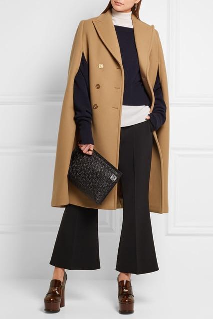 Manteau cape femme discount