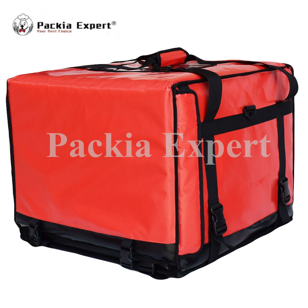 20 L x 20 W x 16 H Pizza Delivery Box, Big Pizza Delivery Bag, Catering Carrier, Motorcycle 2-Way Zipper Closure SZ-555545 security mail bag w lockable belt closure 18w x 30h