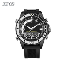 XFCS 2017 waterproof watches for men original man watchs esportivo mens top brand digitales watch military alarm clock tactical