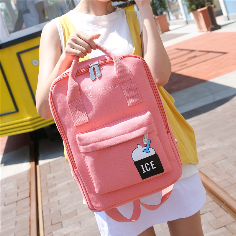 Multifunction Unisex Canvas Backpack Women Backpack Preppy Style School Bags For Teenagers Girls mochila feminina candy color  pu leather vintage backpack 2016 preppy style women backpack school bags for college teenagers girls women mochila feminina