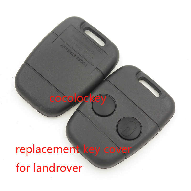 2 Buttons Remote Key Fob Shell For Land Rover Discovery//Defender//Freelander