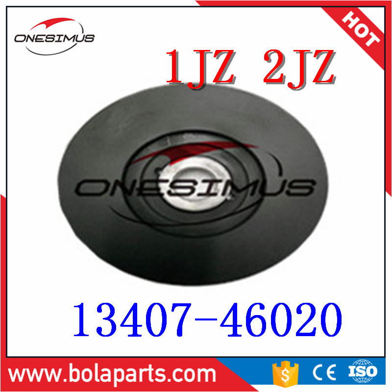 US $65 0 |OEM 13407 46020 High quality rankshaft pulley*Suitable for T 1JZ  2JZ ALTEZZA ARISTO MARK 2 CROWN-in Crankshafts & Parts from Automobiles &