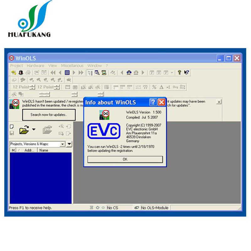 WinOLS Version V2 24 with Unlock Patch for KESS / KTAG /ktm 100 ecu  programmer winols 2 24 + damos files with ECM TITANIUM