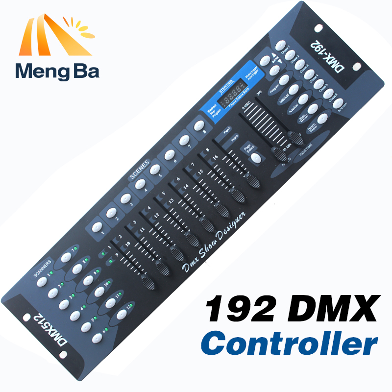 Free shipping NEW 192 DMX controller stage lighting DJ equipment dmx console for led par moving head spotlights dj controller free shipping dmx 192 controller cheap