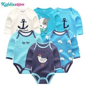 Image 5 - 新しい男の赤ちゃんロンパース服女の子遊び着幼児ジャンプスーツ長袖ベビー服の夏の少年 roupas デパジャマベベ服