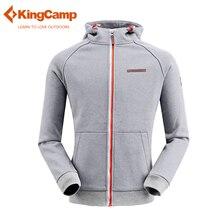 KingCamp Men's Full-zip Eco Fleece Hoodie Jacket Ultimate Heavyweight Mountain Jacket Activewear Pullover Hooded Sweatshirt