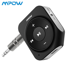 Mpow Bluetooth Receiver 4.1 Car Adapter Portable Kit CVC 6.0 Noise Reductio for Home/Car Sound System