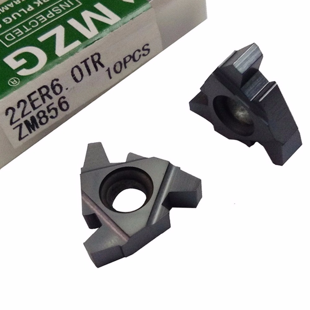 MZG DIN103 22ER4.0TR 22ER5.0TR ZM856 CNC External Stainless Steel Threading Toolholders Indexable Carbide Screw Thread Inserts indexable internal threading inserts carbide inserts 16ir ag60 lathe cutter for thread turning