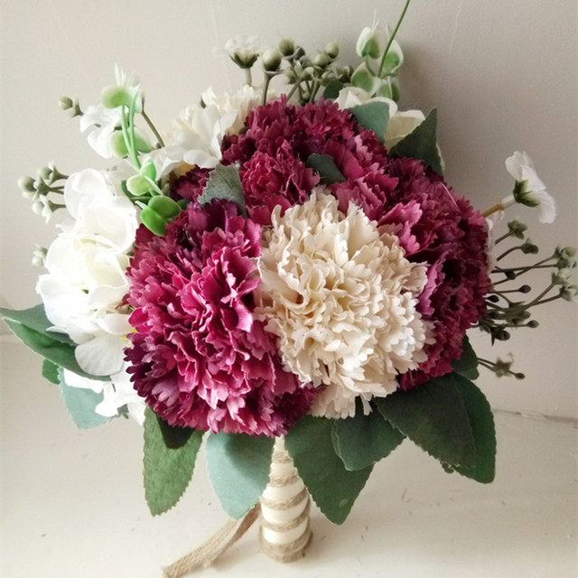 Free Shipping Wedding Accessories Decoration Wedding Bouquet For ...
