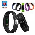 Original id107 banda rastreador de fitness monitor de freqüência cardíaca do bluetooth inteligente pulseira inteligente pulseira para android ios vs mi banda 2