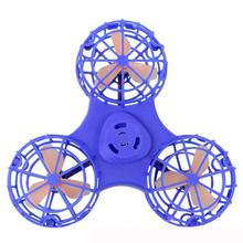 #5001 Tiny Toy Drone Flying Fidget Spinner Stress Relief Gift Flying  Gyroscop Toy(China)