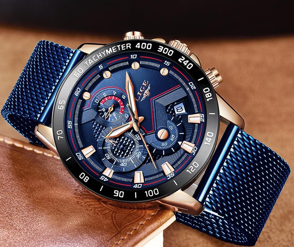 HTB1NGDSOHvpK1RjSZFqq6AXUVXa2 LIGE Fashion Mens Watches Brand Luxury WristWatch Quartz Clock Blue Watch Men Waterproof Sport Chronograph Relogio Masculino
