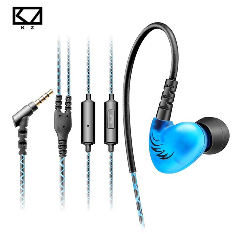 KZ C6 In-ear earphone Supper Bass Sport-Fi Noise Isolating Hifi Headsets For iphone xiaomi Smart phones Pk Kz zs5 earphones kz zs5 double hybrid daynamic and balanced armature sport earphone four driver in ear headset noise isolating hifi music earbuds
