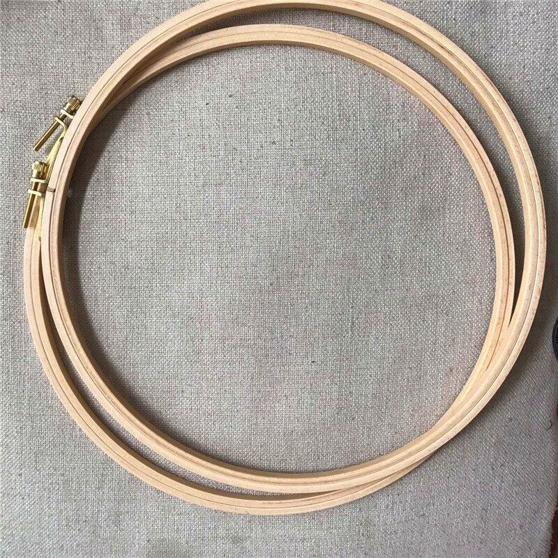 Dia28cm Quilten Hoop Holz Material Stickerei Hoop Kreis Runde ...
