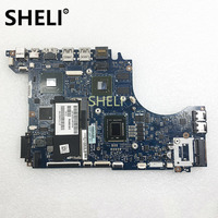 SHELI FOR DELL CN 01GY8V 01GY8V XPS 14Z L412Z Laptop Motherboard PLW00 LA 7451P I5 2450M CPU GT520M 1GB
