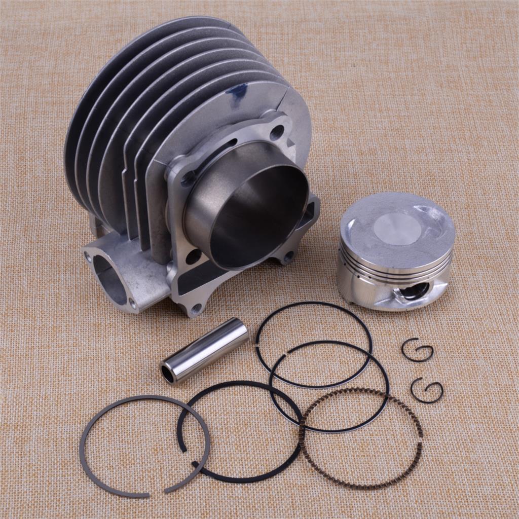 CITALL 12 pièces/ensemble 61mm moto cylindre Piston e-ring Kit de joint adapté pour GY6 125CC 150CC Scooter ATV