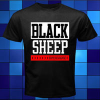 New Black Sheep 8WM Novakane Rap Hip Hop T-Shirt Preto tamanho S a 3XL Dos Homens T Camisa de Manga Curta Em Torno Do Pescoço