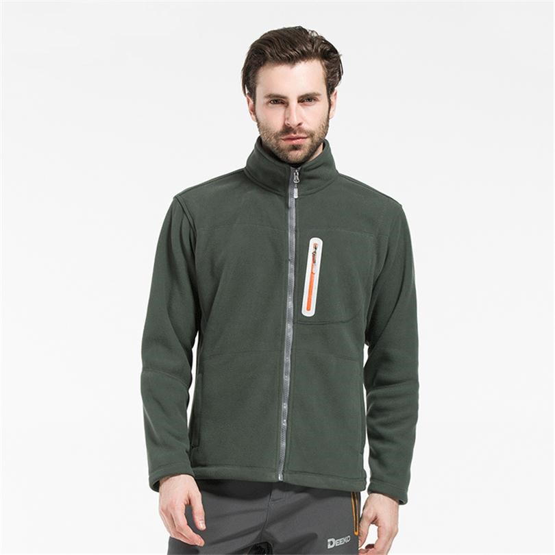 Outdoor Fleece Jacket-Coats Sports Hiking Winter Camping Warm Men for Skiing Autumn XXL