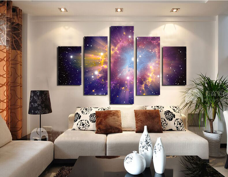 Beautiful Sky Modern Giclee Canvas Prints Artwork On No Framed Printing Wall Art For Home