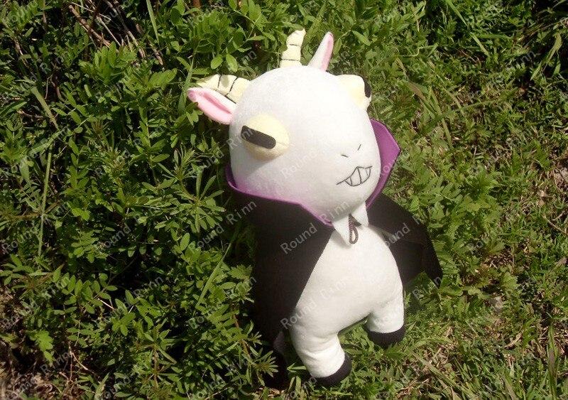 Cuticules détective Inaba Don Valentino Cosplay chèvre mascotte Anime 45 cm peluche et peluche dessin animé poupée - 2