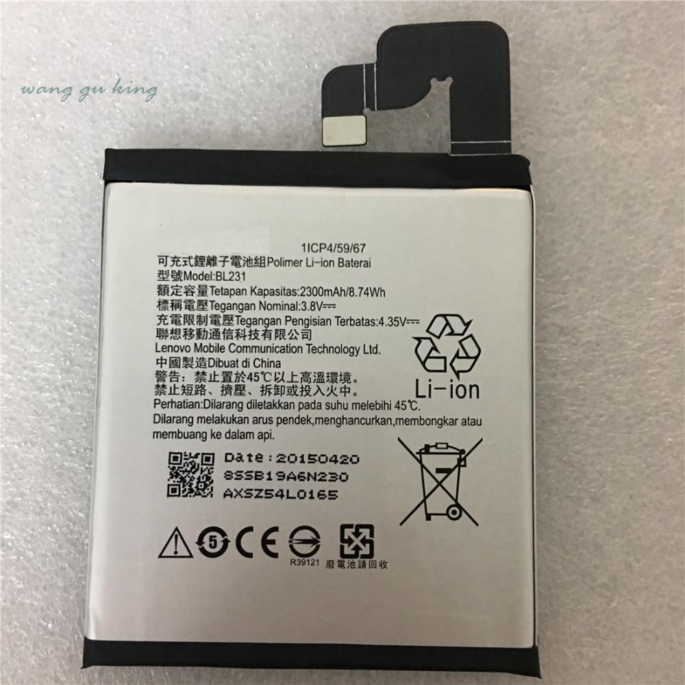 Nuevo Original para Lenovo X2 de reemplazo de la batería de 2300 mAh Li-Ion BL231 de reemplazo de la batería para Lenovo VIBE X2 Lenovo S90 S90u