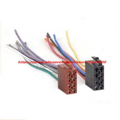 US $10.99 |5 set Universal ISO 10487 Adapter Connector Cable Radio on