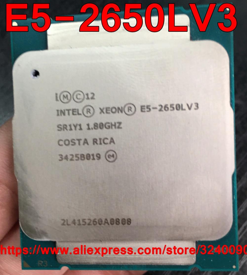 Intel Xeon CPU E5 2650LV3 QS version 1 8GHz 12 Core 30M 65W LGA2011 3 E5