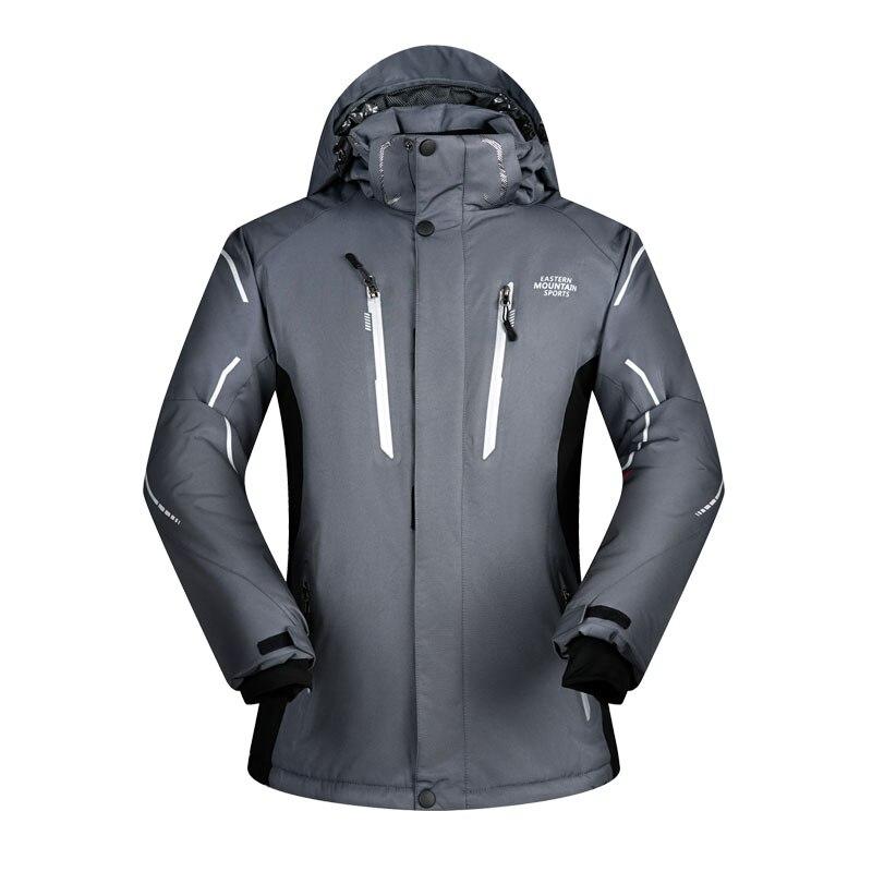 MUTUSNOW Brand Men Ski Snowboard Jacket Hooded Super Warm Clothing Outdoor Sport Wear Windproof Waterproof Male Skiing Coat New