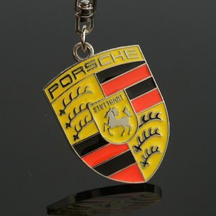 Free shipping! 3D badge/logo car keyring/keychain/keychains/key chain with gift box for 20 PCS  NO 10