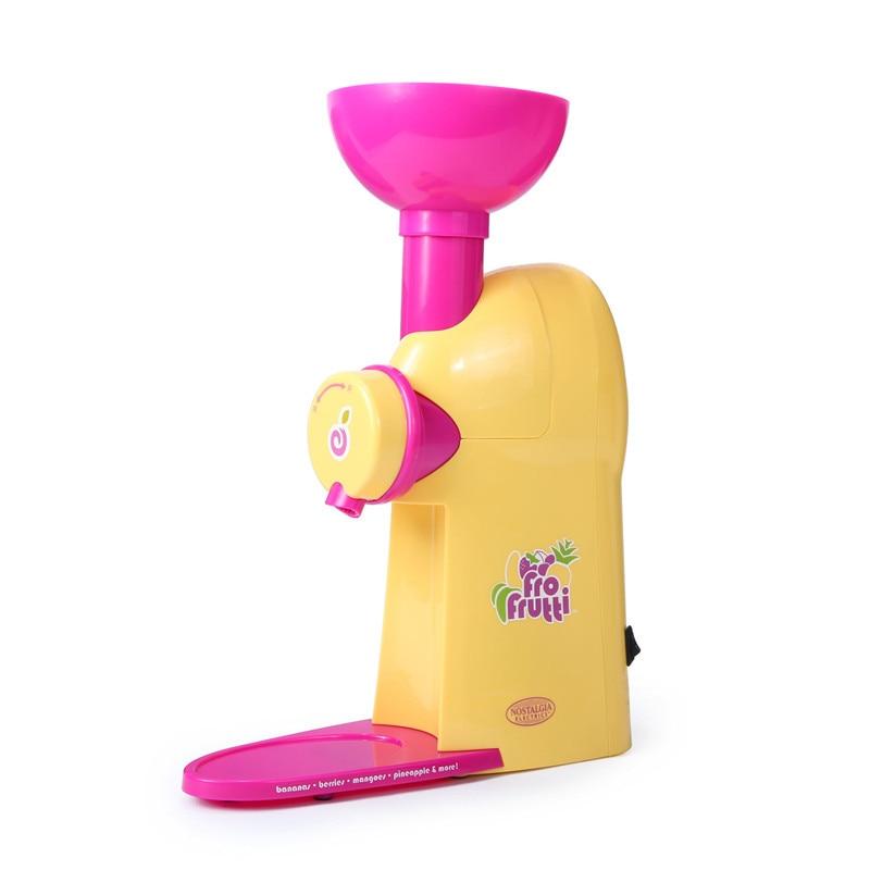 Fruits Ice Cream Machine Household Small-sized Fully Automatic Self-control Ice Cream Children Ice Cream Machine 1