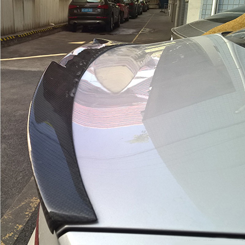 Audi Sedan S3 A3 8v Carbon Fiber Spoiler Sline Rs3 Lip Ducktail Wing